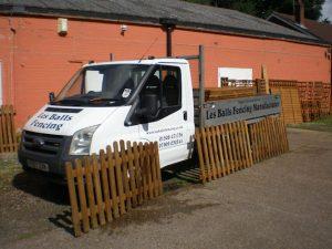 Les Balls Delivering Fence Panels in Norfolk & Suffolk