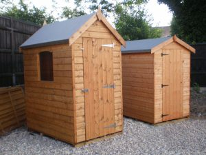 Sheds made to measure